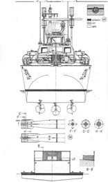 Motor torpedo-boat Libelle High detailed scale ship model plan