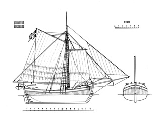 Sweden Yacht ship model plans.